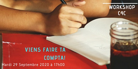 Workshop du 29 Septembre  2020 chez C4C, Ecole des métiers de la Gestion billets
