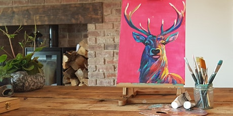 'Bright Stag' painting party @Yorkshire Ales, Snaith - no experience needed tickets