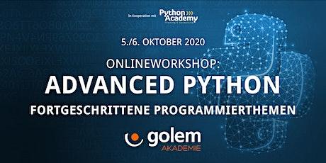 Advanced Python –  Fortgeschrittene Programmierthemen Tickets