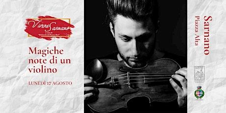 Magiche note di un violino biglietti