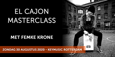 El Cajon Masterclass met Femke Krone tickets