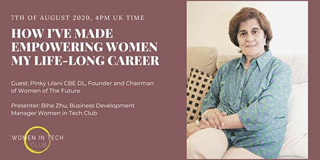 How I've made empowering women my life-long career tickets