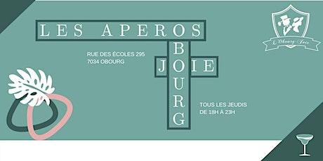 Les apéros Bourg-Joie billets
