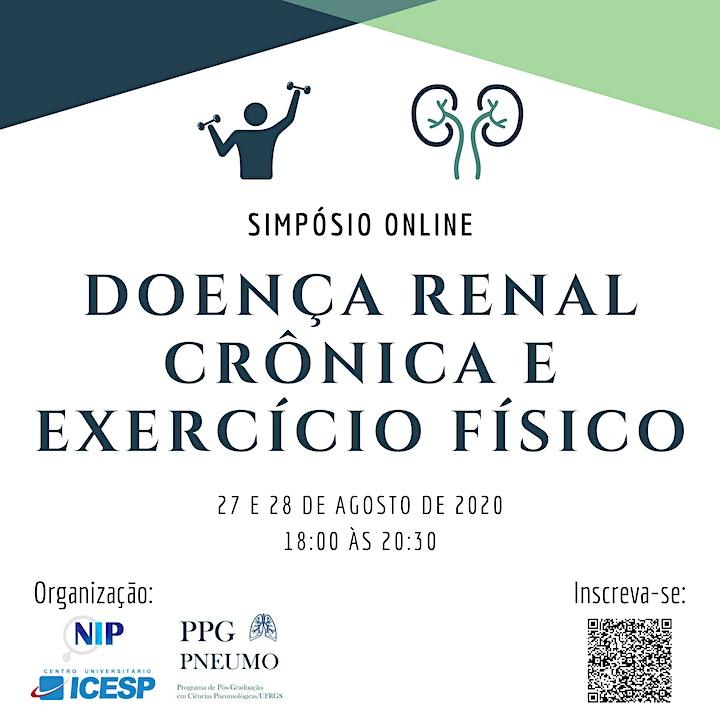 Imagem do evento Simpósio Online: Doença Renal Crônica e Exercício Físico