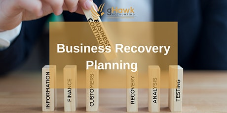 Business Recovery Planning tickets