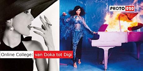 College Geschiedenis van de Fotografie: van Doka tot Digi deel 3 tickets