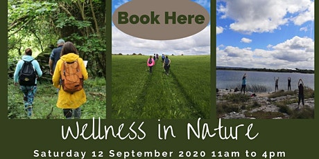 Wellness in Nature - Burren National Park - Saturday 12 September 2020 tickets