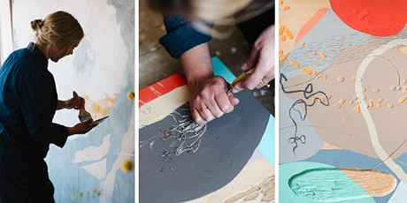 Printmaking & Abstraction with Kitty Hillier and John Howard tickets