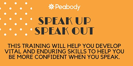 Public Speaking: Build your confidence billets