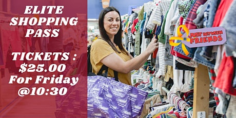 Elite shopping $25 Friday September 25th At 10:30 am tickets