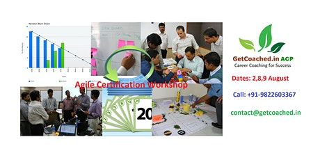 PMI ACP Agile Certification Online Training on 2,8,9 August tickets