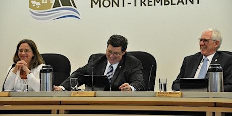 Séances du conseil d'agglomération et municipal | Ville de Mont-Tremblant billets