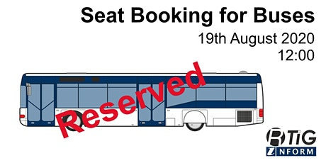 Seat Booking for Buses tickets