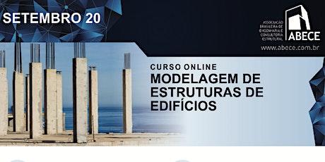 Curso Online - Modelagem de Estruturas de Edifícios ingressos