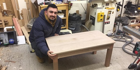Woodwork project intermediate -Make a coffee table day class tickets