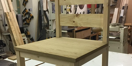 NEW PROJECT CLASS - Make an indoor chair, day course tickets