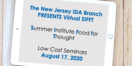 Summer Institute Food for Thought tickets