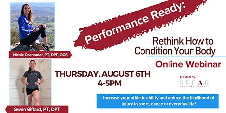 Performance Ready: Rethink How to Condition Your Body tickets