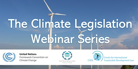 The Climate Legislation Webinar Series tickets
