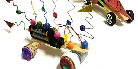 ART AND TECH EXPLORERS - Speedy Dragster Cars - AGES 8 TO 13 tickets