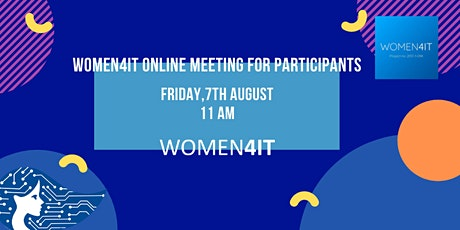 Women4IT online meeting! tickets