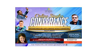 August 1st Online Singles Conference Archived Event tickets