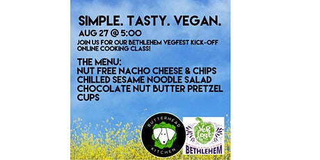 Simple. Tasty. Vegan. Online Cooking Class tickets