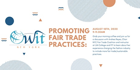 Promoting Fair Trade Practices tickets