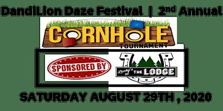 2020 DandiLion Daze COMPETITIVE Cornhole Tourny-Sponsor:Luckys@The Lodge tickets
