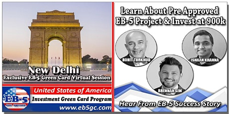 New Delhi EB-5 American Green Card Virtual Market Series tickets
