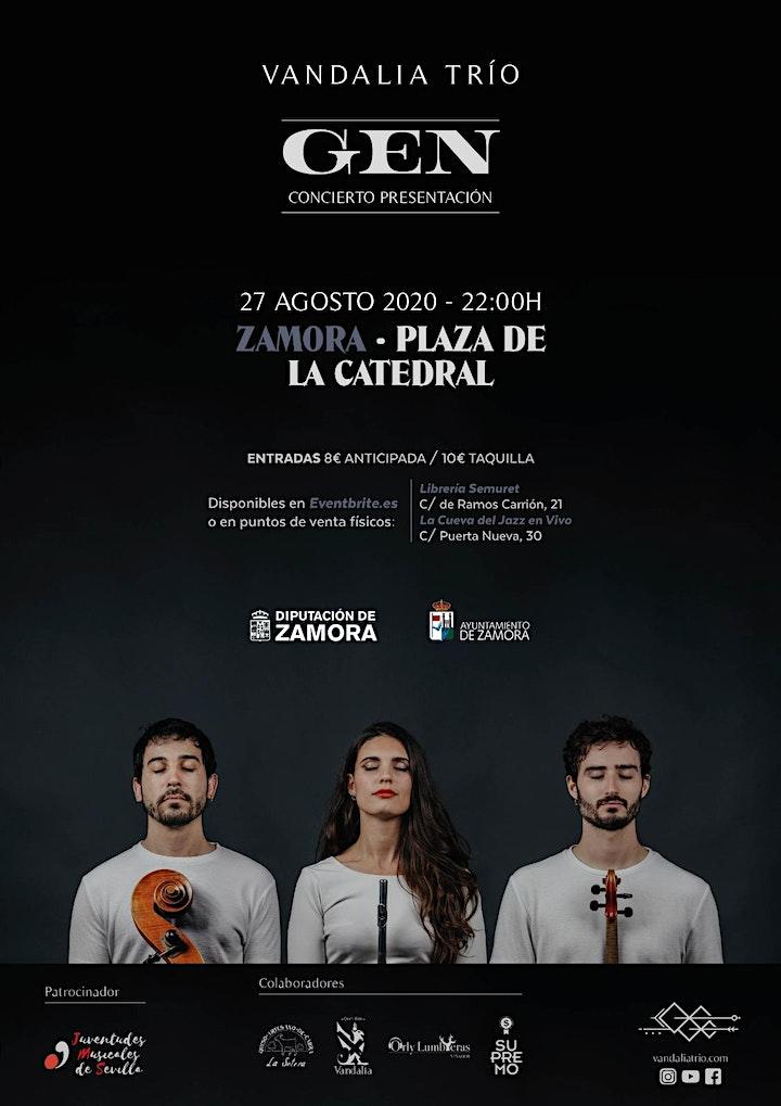 Imagen de Vandalia Trío - Concierto presentación GEN  en Zam