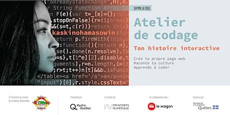Atelier de Codage HTML et CSS billets
