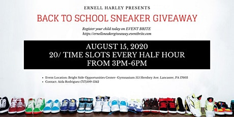 Back to School Sneaker Giveaway tickets