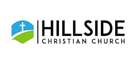 Hillside Christian Church - Worship August 9th  @ 10 AM tickets