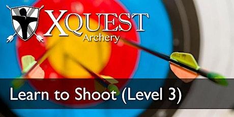(SEP)Archery 7-week lessons:Level 3 - Saturdays @ 11:45 am (LTS3) tickets