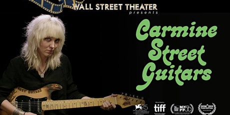 FILM : Carmine Street Guitars tickets