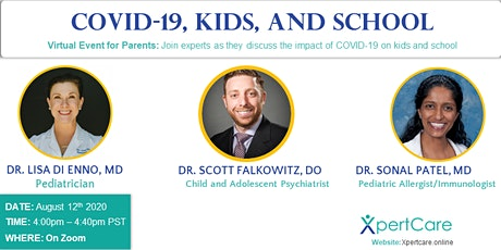 Kids, School, and COVID-19 tickets