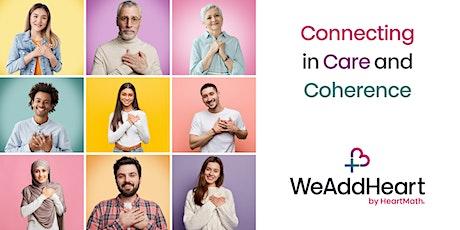 WeAddHeart Collingham [online] tickets