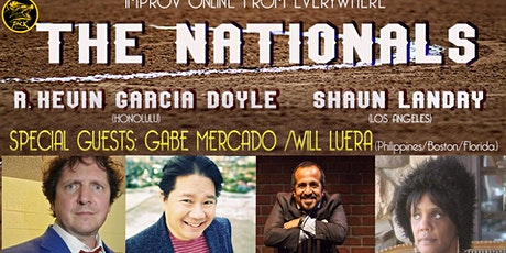 The Nationals Improv Comedy with Gabe Mercado and Will Luera! tickets