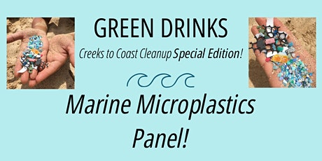 ECOSLO Green Drinks Special Edition: Marine Microplastic Panel tickets