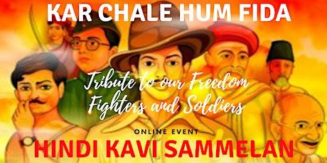 Online Hindi Kavi Sammelan - Kar Chale Hum Fida tickets