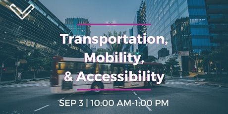 Virtual Venture Café: Transportation, Mobility, and Accessibility tickets