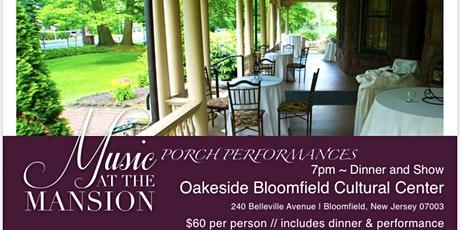 Music at the Mansion - PORCH PERFORMANCES - Eric Yves Garcia tickets