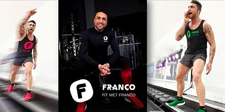 Fit-Food-Fun Challenge by Franco Bitonti - workout 19 uur billets