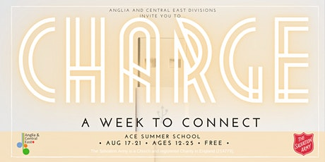 ACE invites you to 'CHARGE - A week to connect' tickets