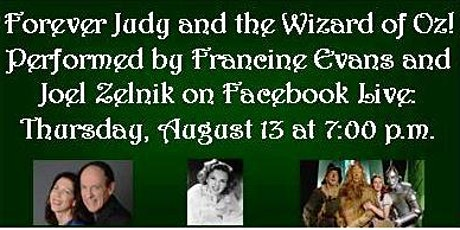 Forever Judy and the Wizard of Oz! A Facebook Live Concert! tickets