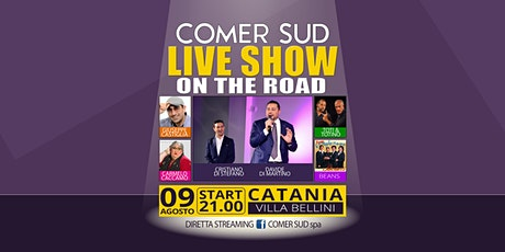 Comer Sud Live Show on the Road biglietti