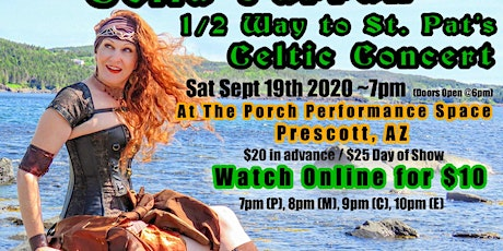 View Online or Live/Prescott 1/2 Way to St. Pat's Celtic Concert tickets