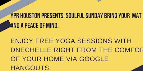 Houston, TX Soulful Sunday : Virtual tickets