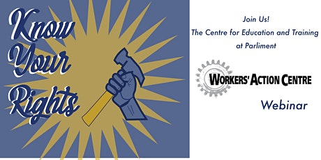 Your rights as a worker tickets